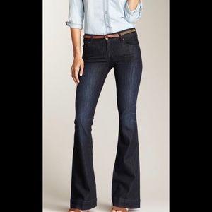 DAVID KAHN Nikki Skinny bootcut blue jeans pants